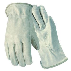 Wells Lamont Grain Goatskin Drivers Gloves