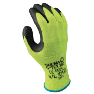 SHOWA® S-Tex® 300 Rubber Palm-Coated Gloves