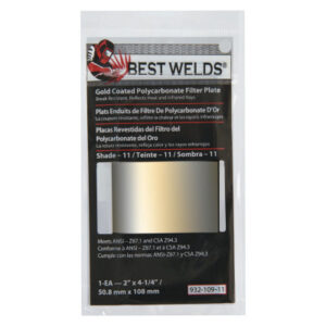 Best Welds Gold Coated Filter Plate