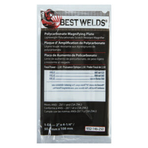 Best Welds Plastic Magnifier Plate