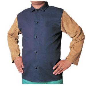 Best Welds Leather/Sateen Combo Jackets