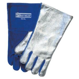 Best Welds Split Cowhide Front Welding Gloves