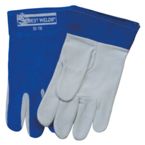 Best Welds Split Cowhide/Goatskin Palm 70-TIG Welding Gloves