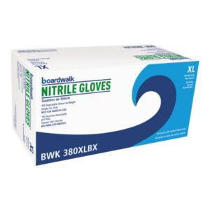 Boardwalk Disposable Nitrile Gloves